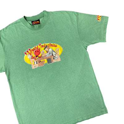 Mid 90's World Industries Bootleg T-Shirt