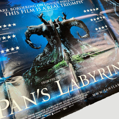 2006 Pan's Labyrinth UK Quad Cinema Poster