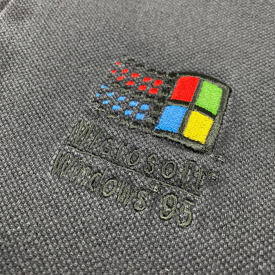 Mid 90's Microsoft Windows 95 Polo Shirt