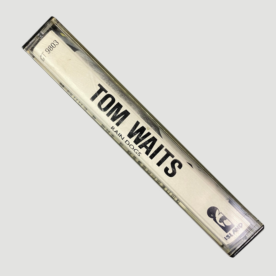 1985 Tom Waits 'Rain Dogs' Cassette