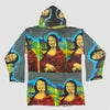 90's 'Mona Lisa' All Over Print Hoodie
