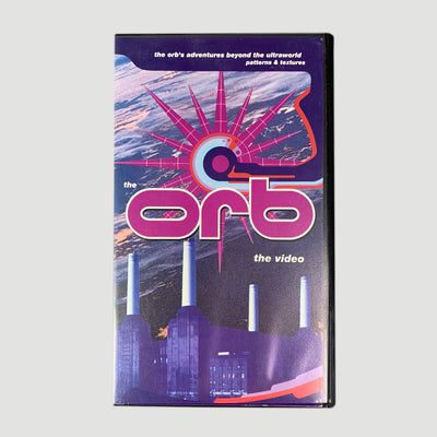 1992 The Orb 'The Orb's Adventures Beyond The Ultraworld (Patterns & Textures)' VHS