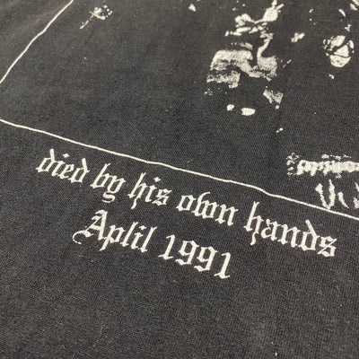 1997 Mayhem 'Died By His Own Hands' Long Sleeve T-Shirt