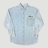 1999 Microsoft Office Denim Chambray Shirt