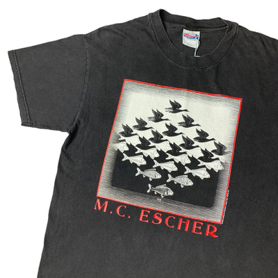 Early 90's M.C. Escher 'Sky & Water' T-Shirt