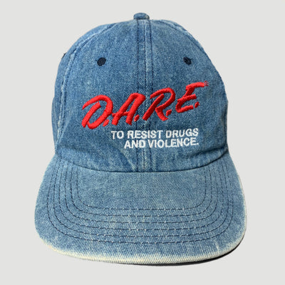 Early 90's D.A.R.E. Denim Strapback Cap