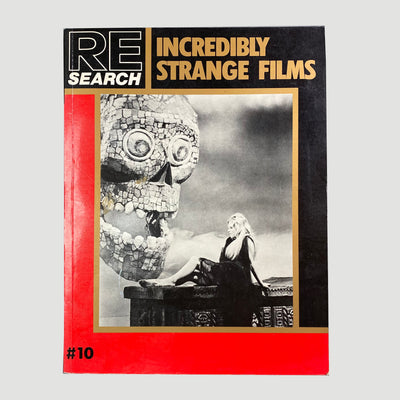 1988 RE/Search No. 10: Incredibly Strange Films