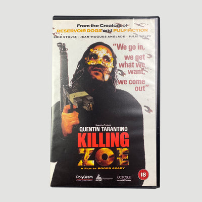 1994 'Killing Zoe' Ex-Rental VHS