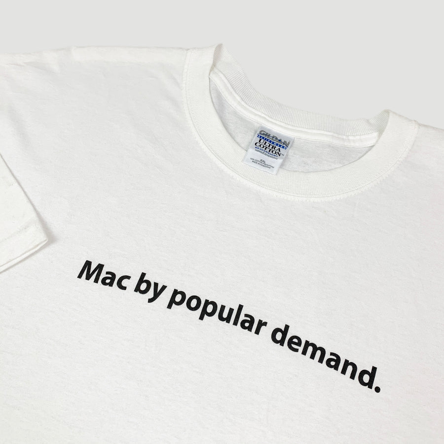 1999 Apple 'Mac by popular demand' T-Shirt