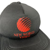 Mid 80's New World Video Snapback Cap