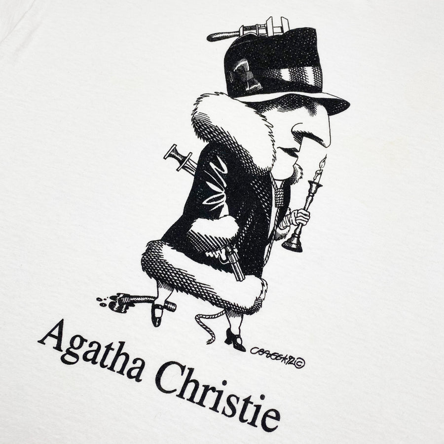 Early 90's Agatha Christie Largely Literary T-Shirt