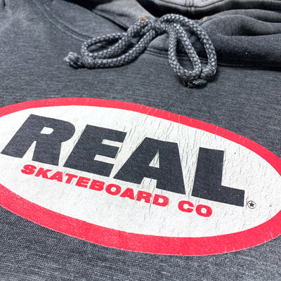 Late 90's Real Skateboards Logo Hoodie