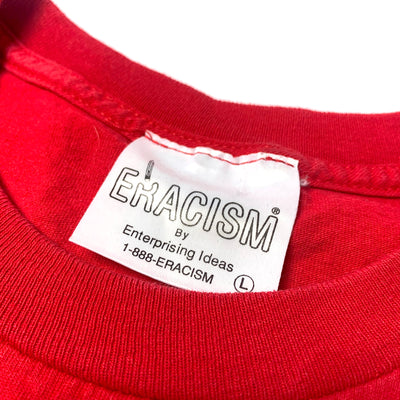 90's Eracism Stop the Hate Red T-Shirt