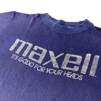 80's Maxell Good For Your Heads T-Shirt