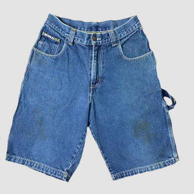 90's World Industries Denim Skate Shorts