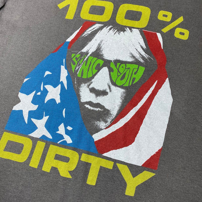 Early 00's Sonic Youth '100% Dirty' T-Shirt