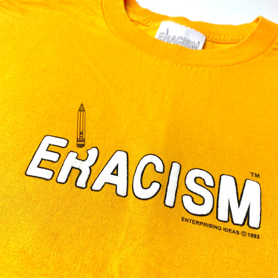 90's Eracism Stop the Hate Yellow T-Shirt