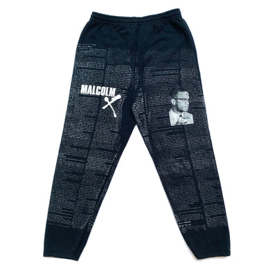 Early 90's Malcolm X printed Sweatpants