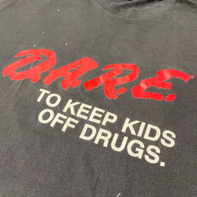 Early 90's D.A.R.E. Classic Logo T-shirt