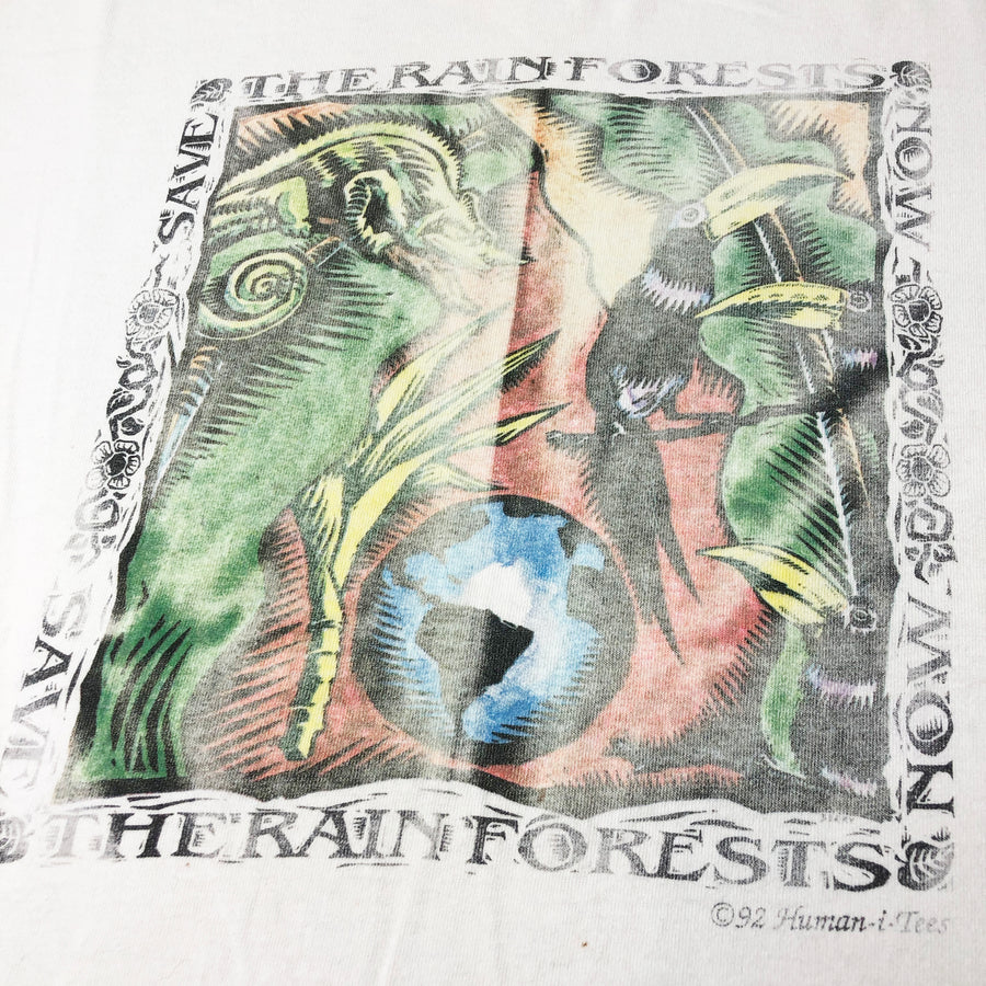 1992 Save The Rainforests T-Shirt