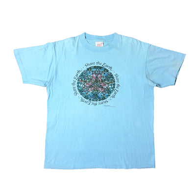 Early 90's Share The Earth T-Shirt