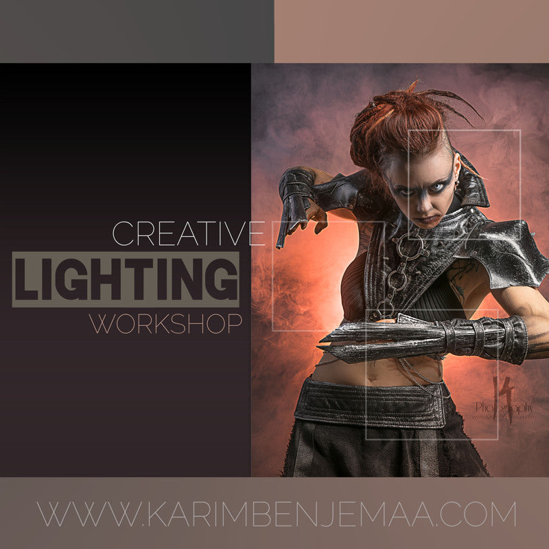 Creative lighting workshop / atelier en lumière créative