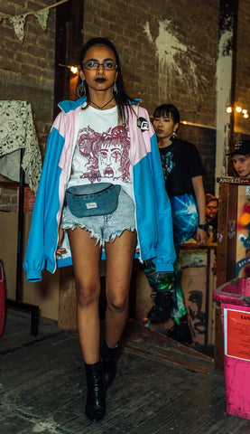 runway show adelaide, mixed spice creative studio, sustainable clothing co, ethical fashion, sustainable streetwear, demian renucci, art over apathy, poeca bags