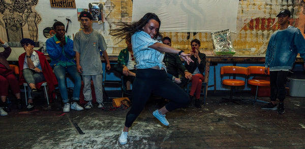 the visiion break dance crew adelaide, mixed spice creative studios, adelaide dance performance, dance battle adelaide, sustainable clothing co launch night