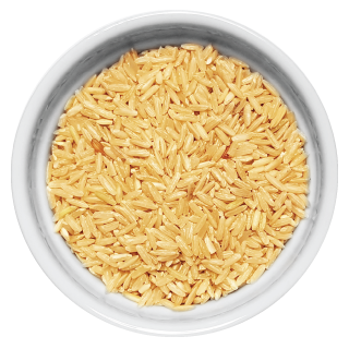 Doggiecatessen Brown Rice in ramekin natural healthy home-made cooked pet food