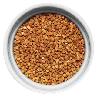 Doggiecatessen Buckwheat in ramekin natural healthy home-made cooked pet food