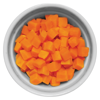 Doggiecatessen Carrot in ramekin natural healthy home-made cooked pet food