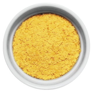 Doggiecatessen Nutritional Yeast in ramekin natural healthy home-made cooked pet food