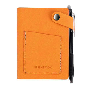 Mini Smart Reusable Elfinbook with Leather Case