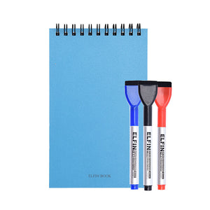Elfinbook™ 2019 Version - Smart Reusable Memo Pad + 3x Pen