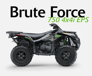 2020 Kawasaki Mule Brute Force 750 4x4 Quad Bike