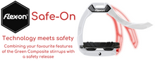 Load image into Gallery viewer, Flex-On Safe-On Ultra Grip Safety Stirrups