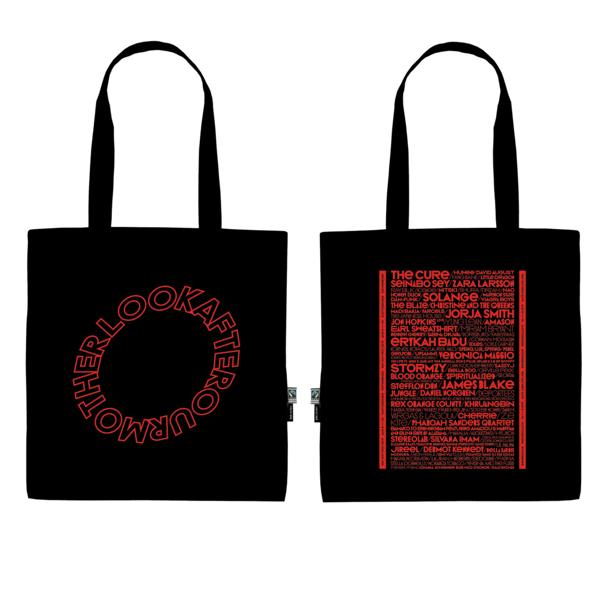 LOOK AFTER OUR MOTHER TOTE BAG