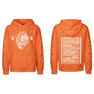 2019 HOODED SWEATER / ORANGE