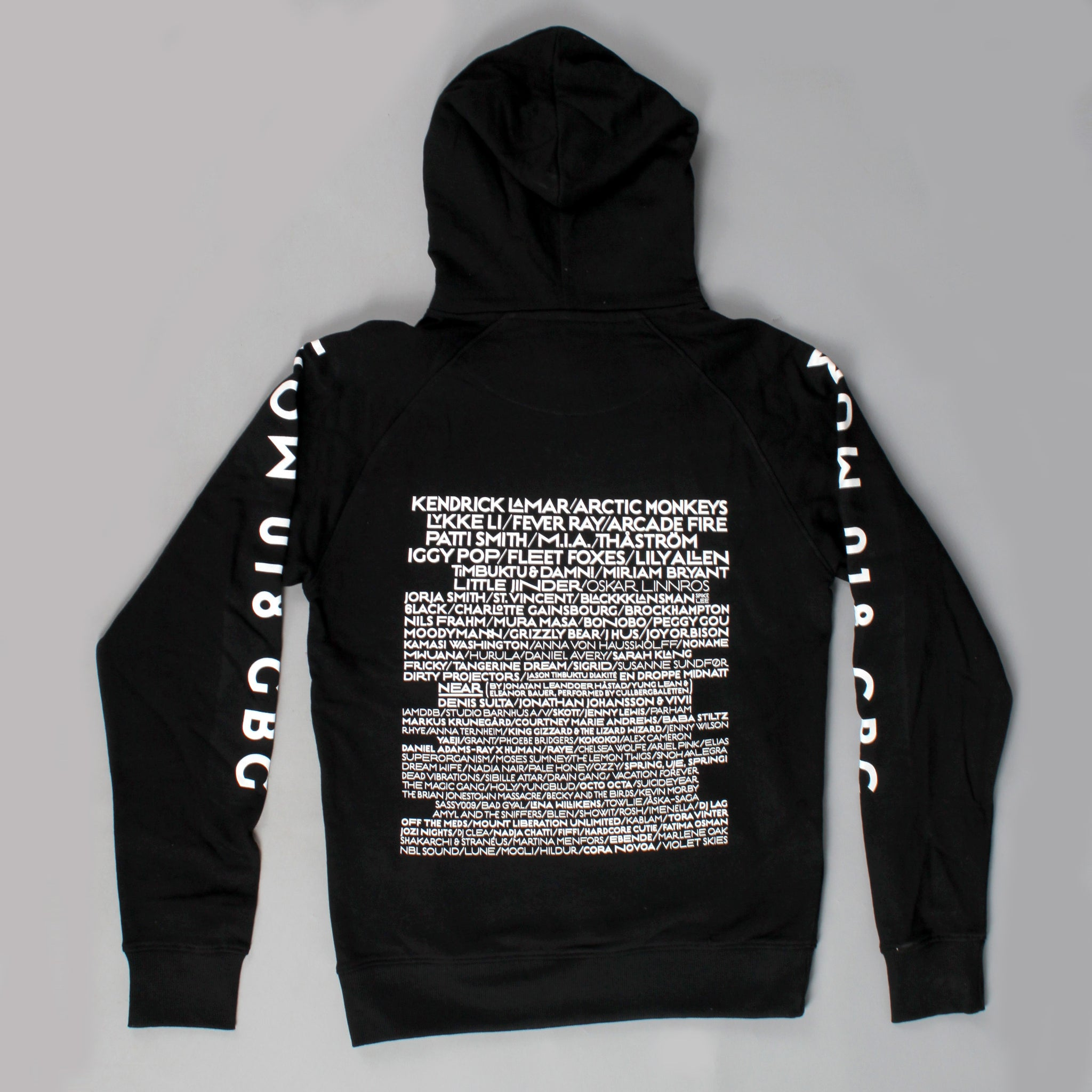 HOODED SWEATER / BLACK