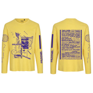 WOW LONGSLEEVE LINE UP / YELLOW