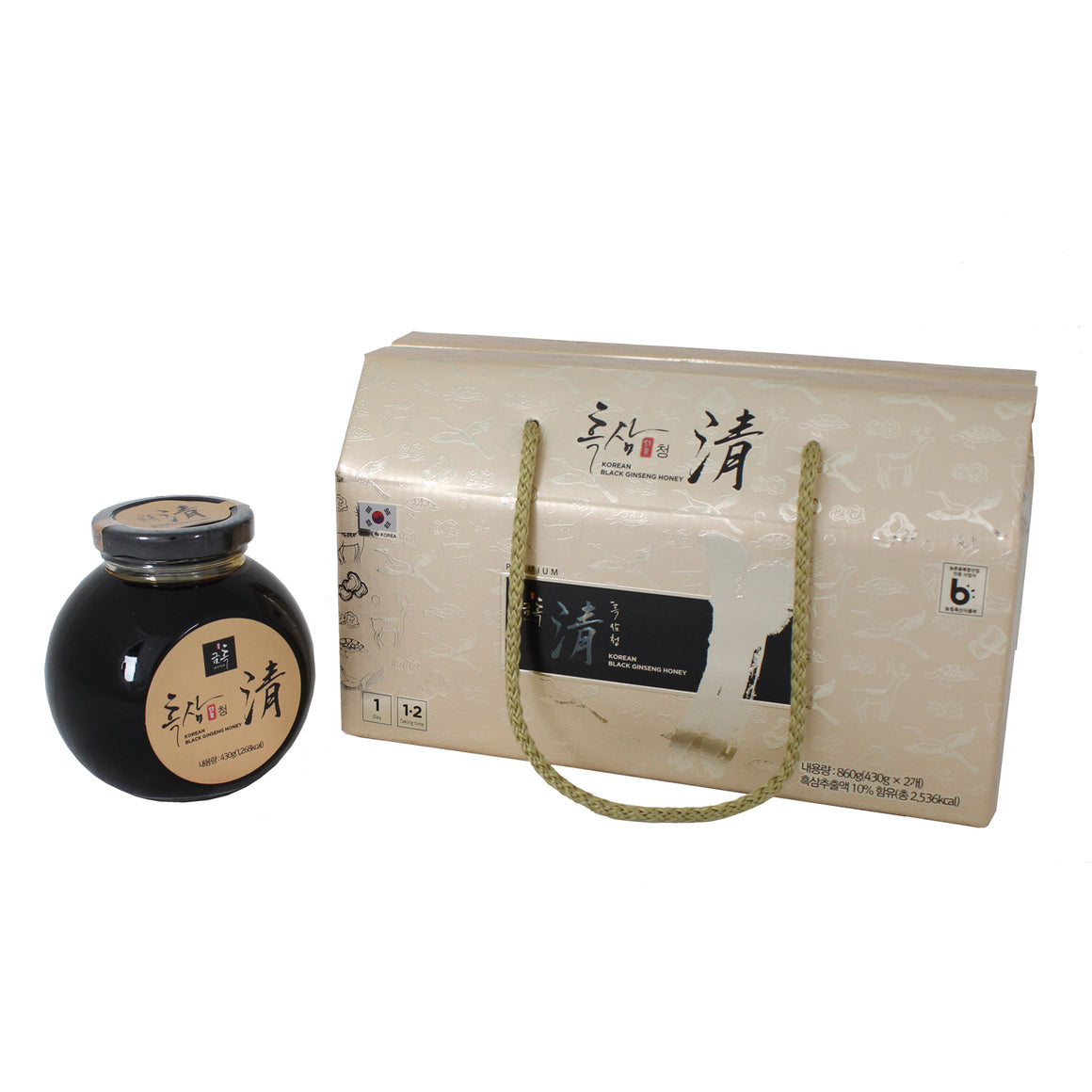 Korean Black Ginseng Syrup