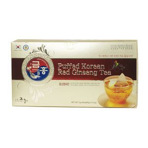 Korean Red Ginseng Tea Puffed 60g