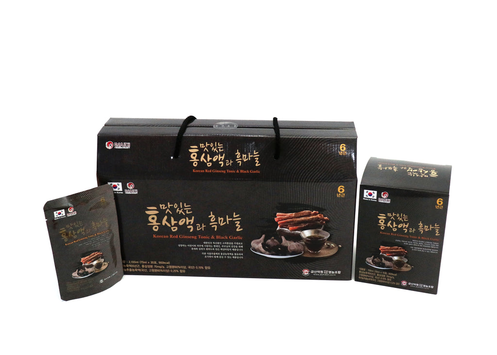 Korean Red Ginseng & Black Garlic