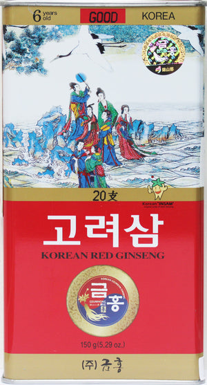 Korean Red Ginseng Whole Root Good Grade 20Ji