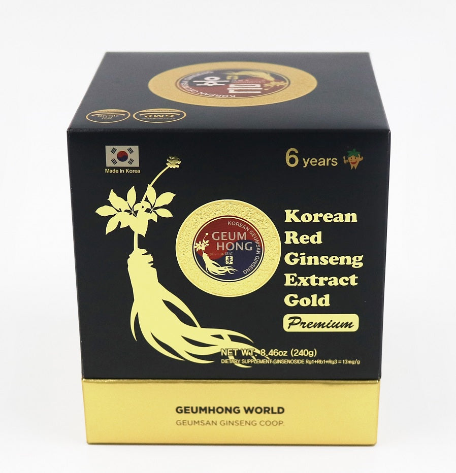 Korean Red Ginseng Extract GOLD PREMIUM