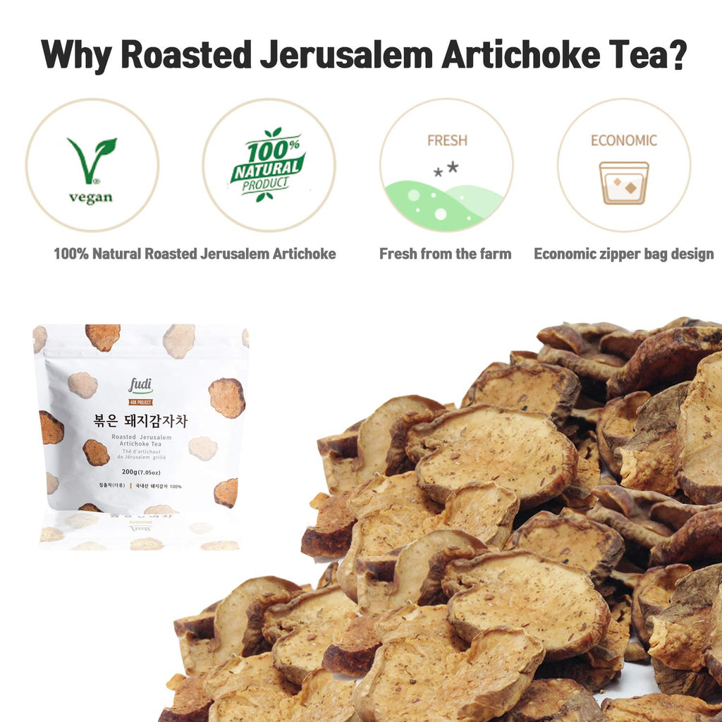 Korean Roasted Jerusalem Artichoke Tea