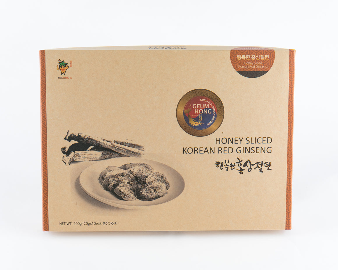 Korean Red Ginseng Honeyed Slice Root