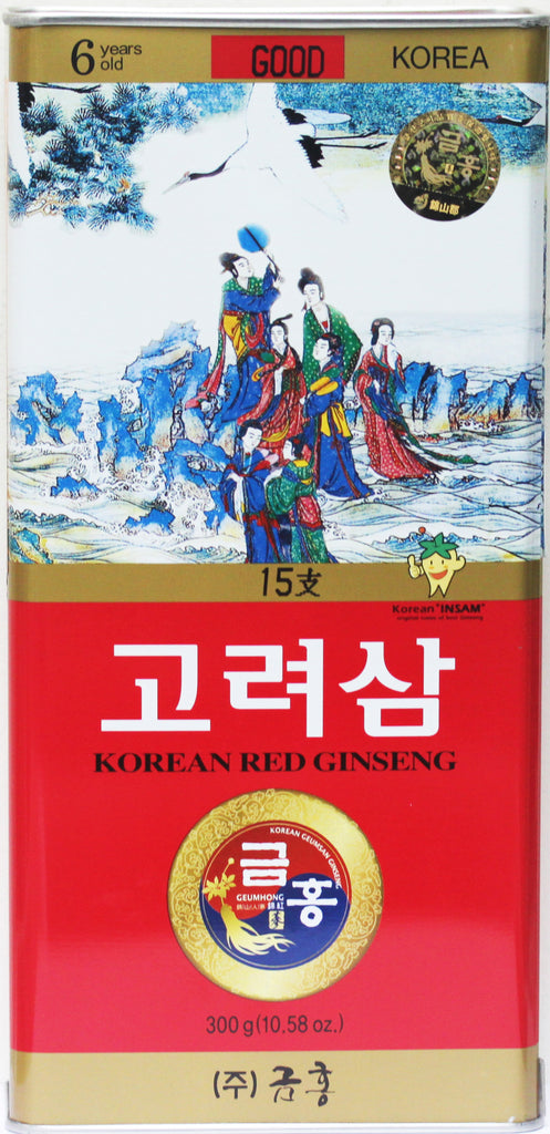 Korean Red Ginseng Whole Root Good Grade 15Ji 300g