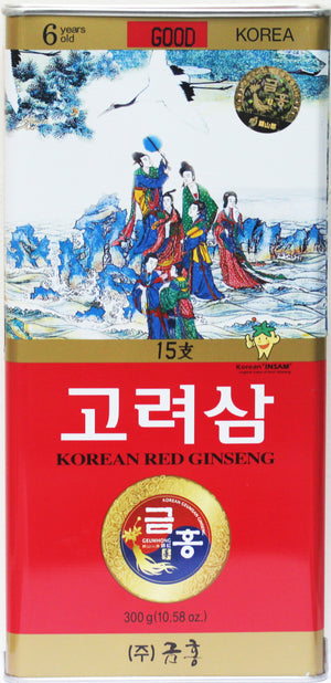 Korean Red Ginseng Whole Root Good Grade 15Ji