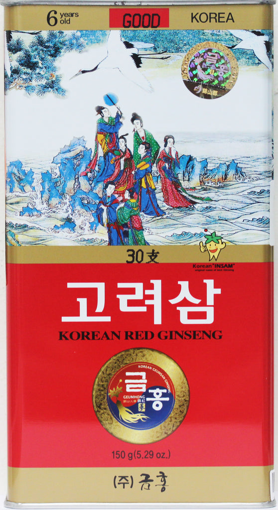 Korean Red Ginseng Whole Root Good Grade 30Ji 150g